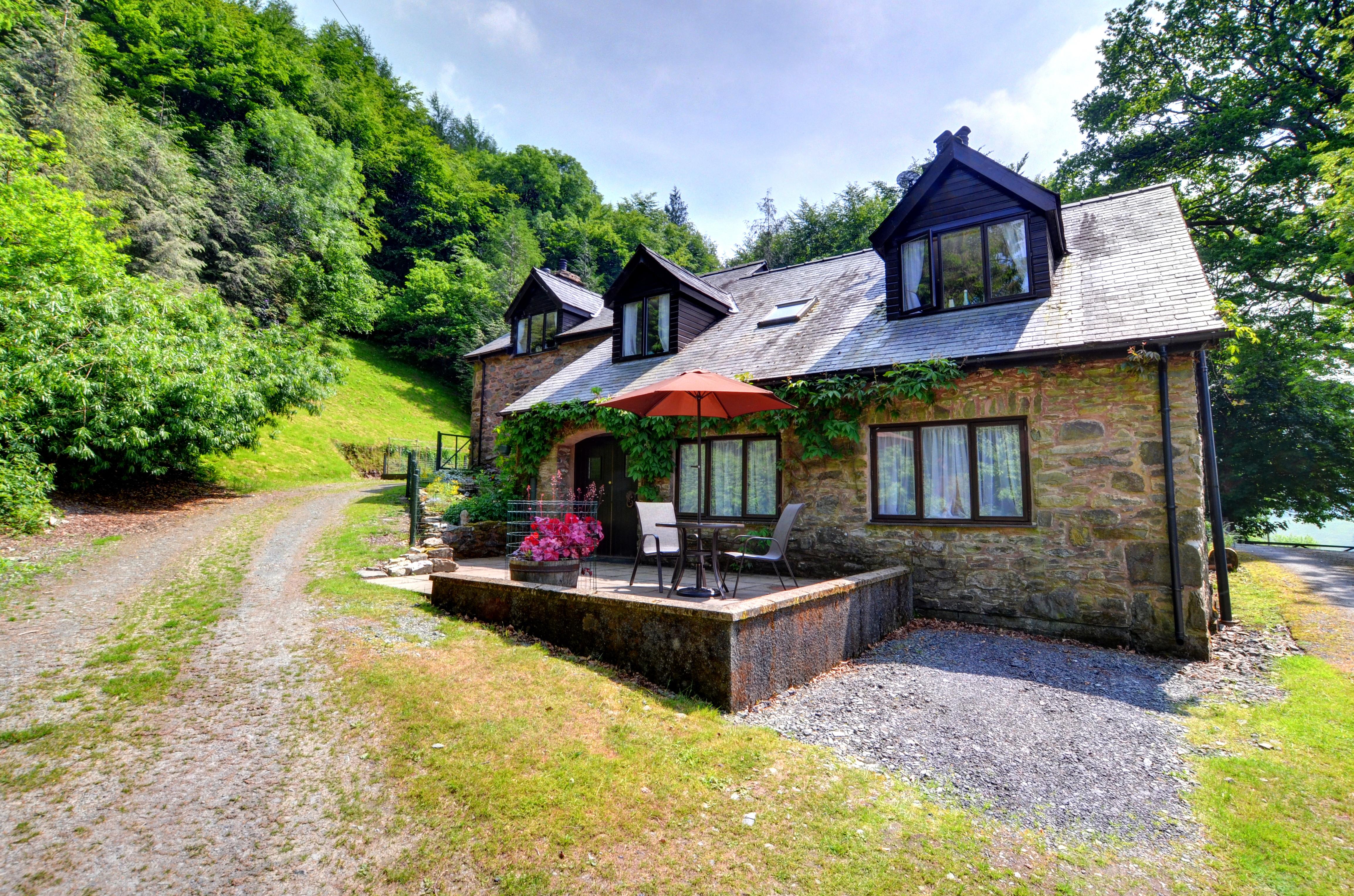Ferienhaus in Cwm-Cewydd