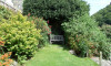 The garden is secluded and a wonderful place to relax