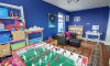 Family room with games for all ages