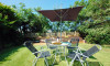Enjoy an al fresco meal together in the garden which is a real suntrap