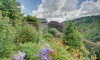 Terraced garden with delightful valley views