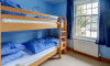 The children will love the bunk room!