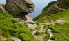 Stunning scenery can be found at Valley of Rocks, just a short drive away