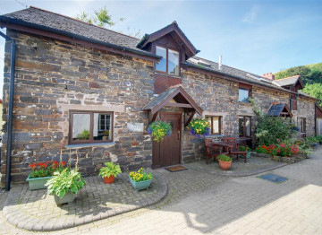 This cottage has been converted from an original stone barn.