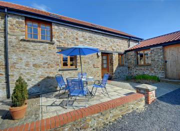 Newly converted stone barn in the heart of rural Devon.