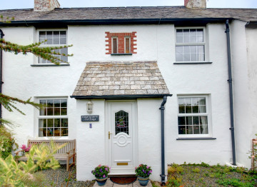 A former coastguard's cottage in the small hamlet of Stoke between Hartland Quay and Hartland village