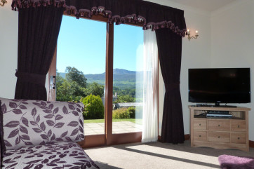 Great, unobstructed views of the Cadair Idris mountain range