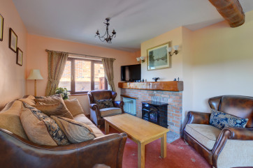 Lovely cosy sitting area with comfortable seating