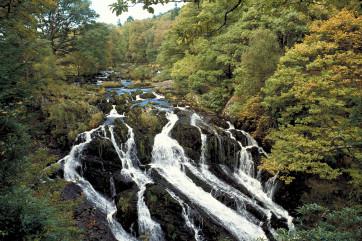 Swallow Falls (Rhaeadr Ewynnog), Betws y Coed