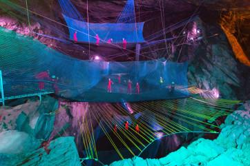 Bounce Below in Blaenau Ffestiniog