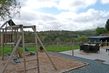 Childrens play park area