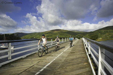 Mawddach Trail - a beautiful walk / cycle route from Barmouth to Dolgellau