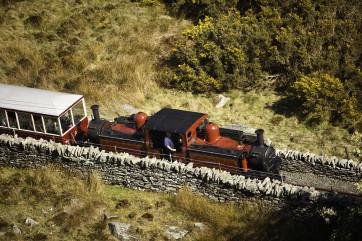 Steam Train from Blaenau Ffestiniog to Porthmadog
