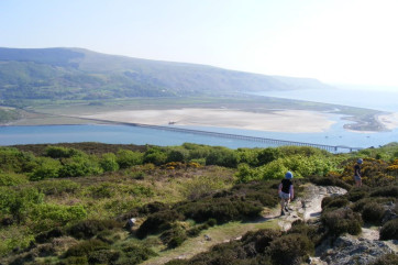 The wonderful views along the Panorama Walk above Barmouth