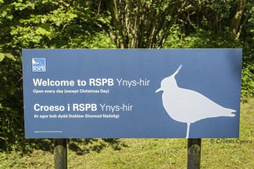 And a visit to the RSPB Reserve and Dyfi Osprey Project at Ynyshir