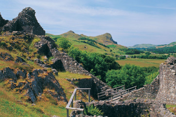 Castell y Bere - a Welsh castle in the stunning Dysynni Valley