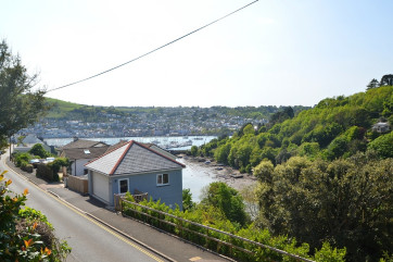 Views of the River Dart from Inglewood Apartments in Kingswear