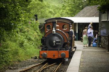 Tal-y-llyn Railway - one of two narrow gauge steam trains within 20 miles