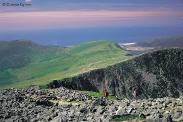 Enjoy the rewarding views from the peaks of Cader Idris