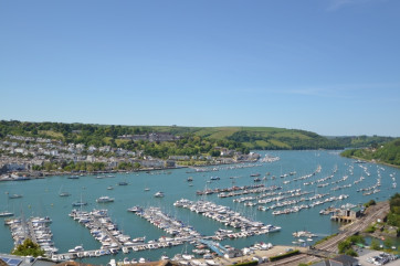 View of the River Dart and Dartmouth from Kingswear