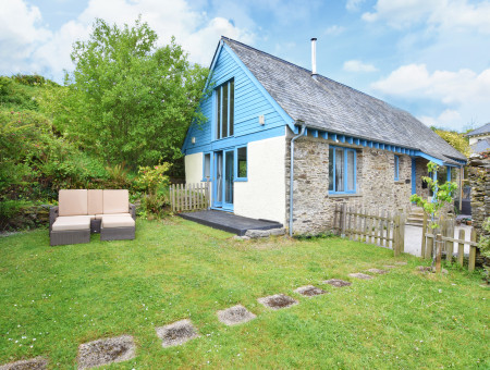Southills Cottage, Cornworthy - Garden and property view