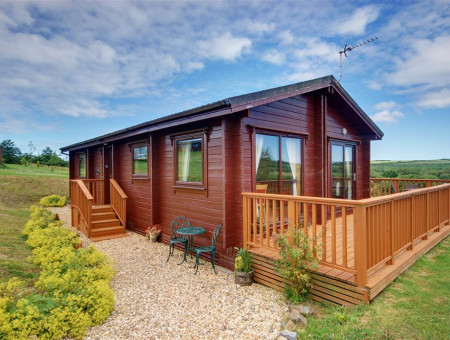 Detached holiday lodge