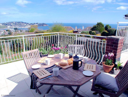 Harbour Lights Torquay - Upper Terrace with stunning Sea VIews