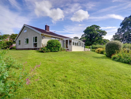A spacious detached bungalow on the edge of the picturesque village of Dulverton