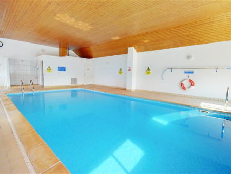 The heated indoor swimming pool is a real bonus and there is a smaller pool for the children