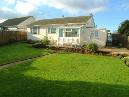 Kingsway Paignton - Rear Garden to the bungalow