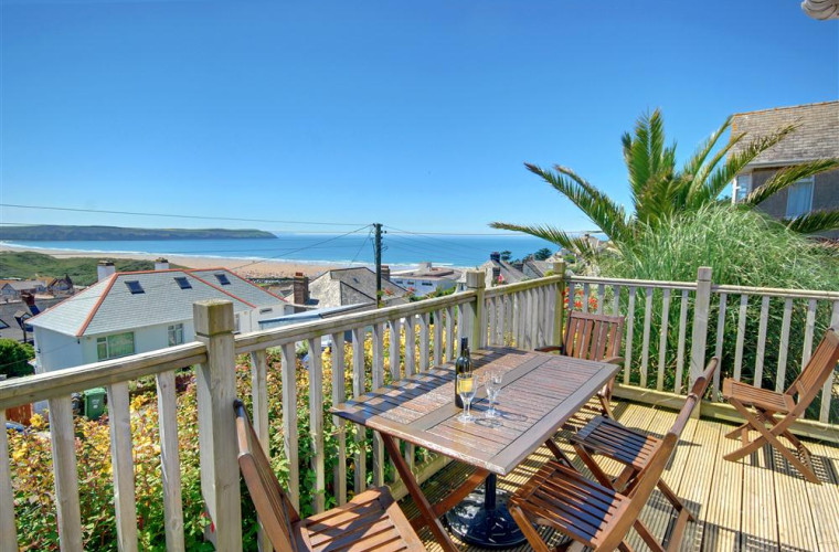Sea views don't get much better than this!