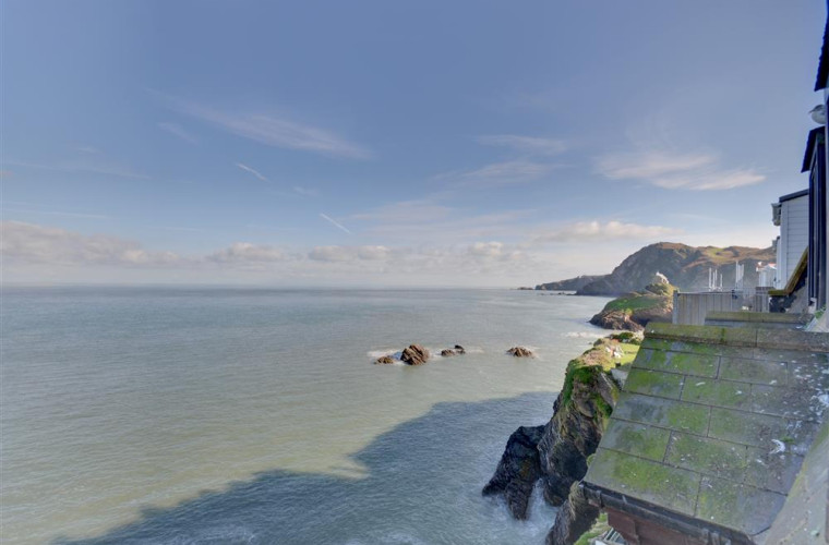 The most wonderful panoramic sea views from the apartment