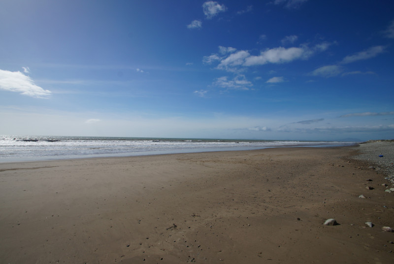Talybont Beach - a 0.3 mile stroll from your doorstep