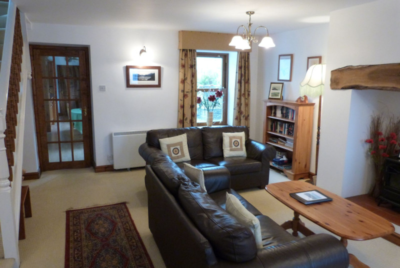 Light & airy room that enjoys views onto a valley & Moel Siabod mountain