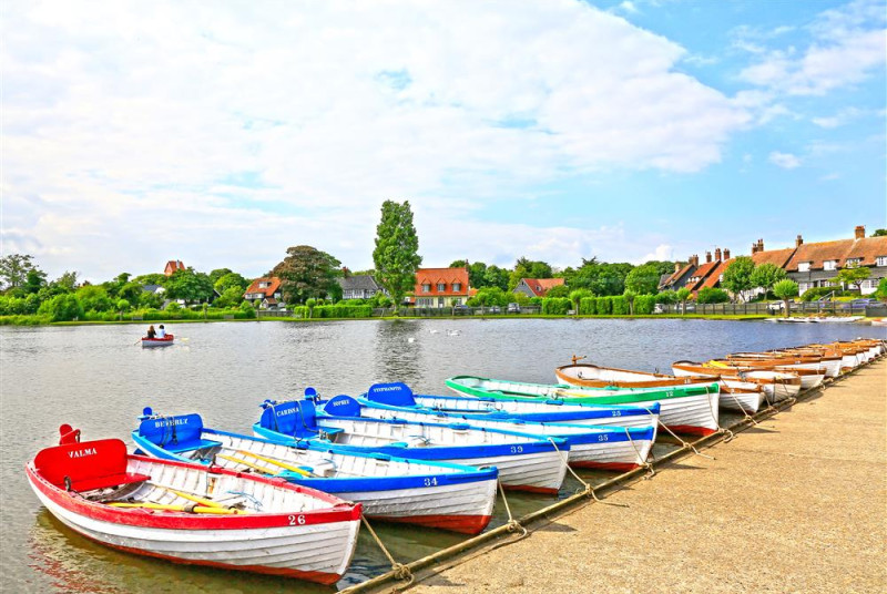 The Meare Rowing Boats