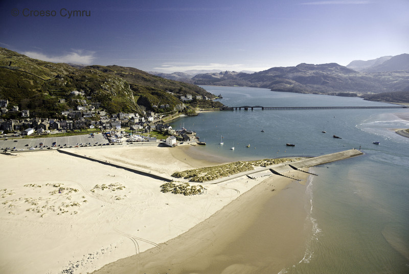 Barmouth Beach, just 4.5 miles south
