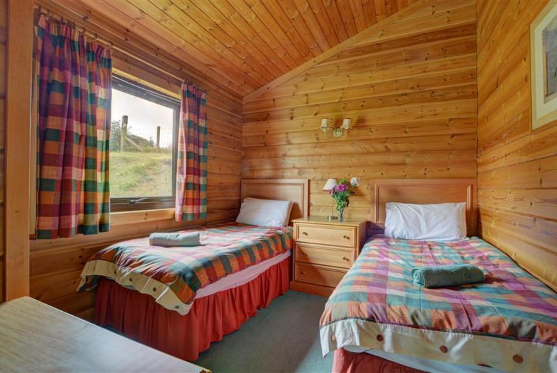 Comfortable twin bedroom