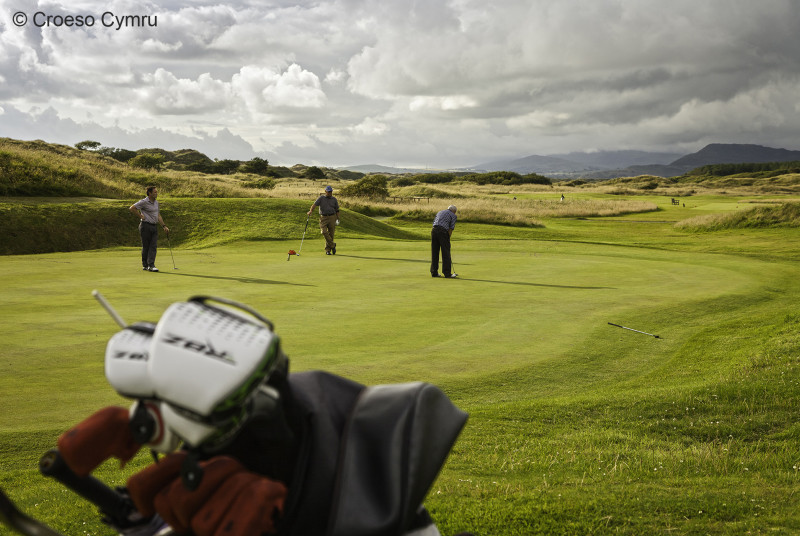 Royal St. David's Golf Club in Harlech