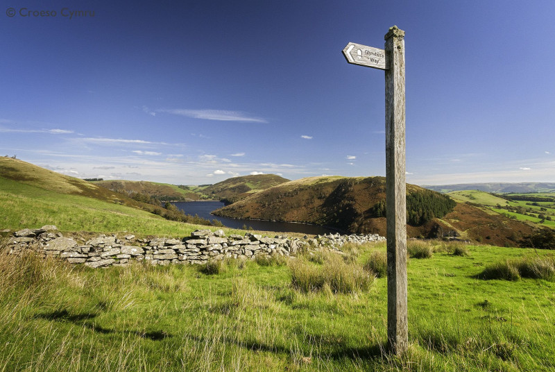Superb walks nearby, including Glyndwr's Way (National Trail)