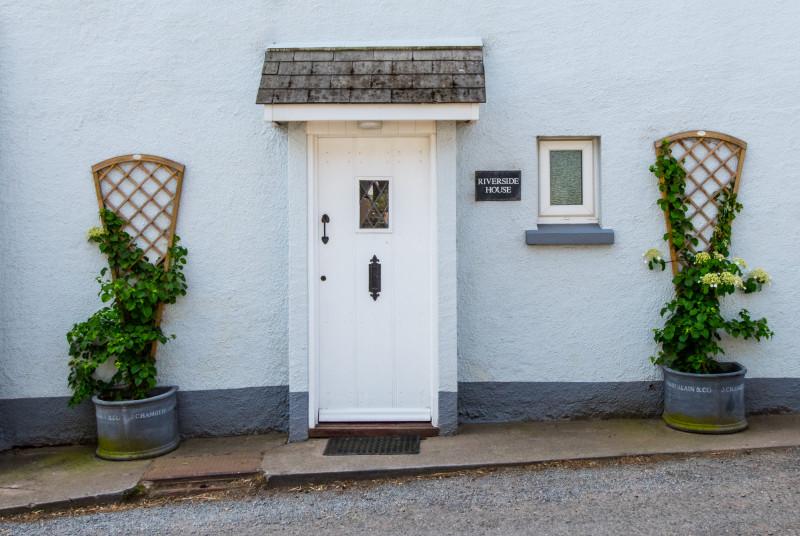 Riverside House front door