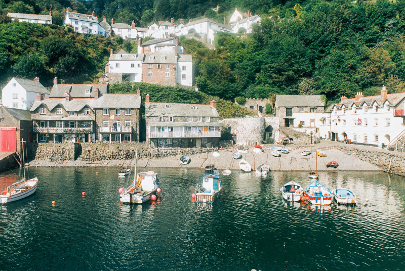 The beautiful historic fishing village of Clovelly is a short drive away