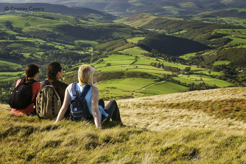 Located at the foot of the Cambrian Mountains, you have plenty of walks to choose from
