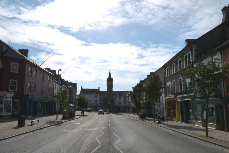 Machynlleth - a beautiful market town and the Ancient Capital of Wales