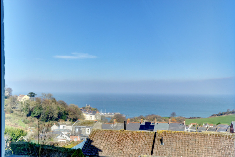 Magnificent sea views from the open plan living room
