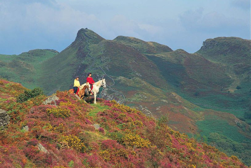 Horse-riding in Snowdonia, 8 miles from your Tywyn accommodation