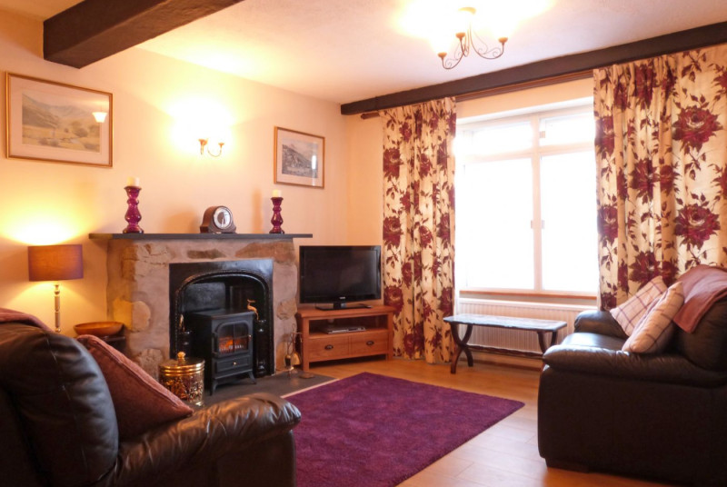 Plenty of comfortable seating, freeview TV and DVD player