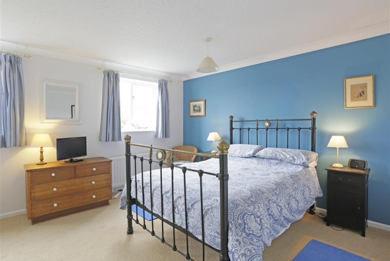 This double room is spacious and airy and houses a television for those lazy mornings in bed.